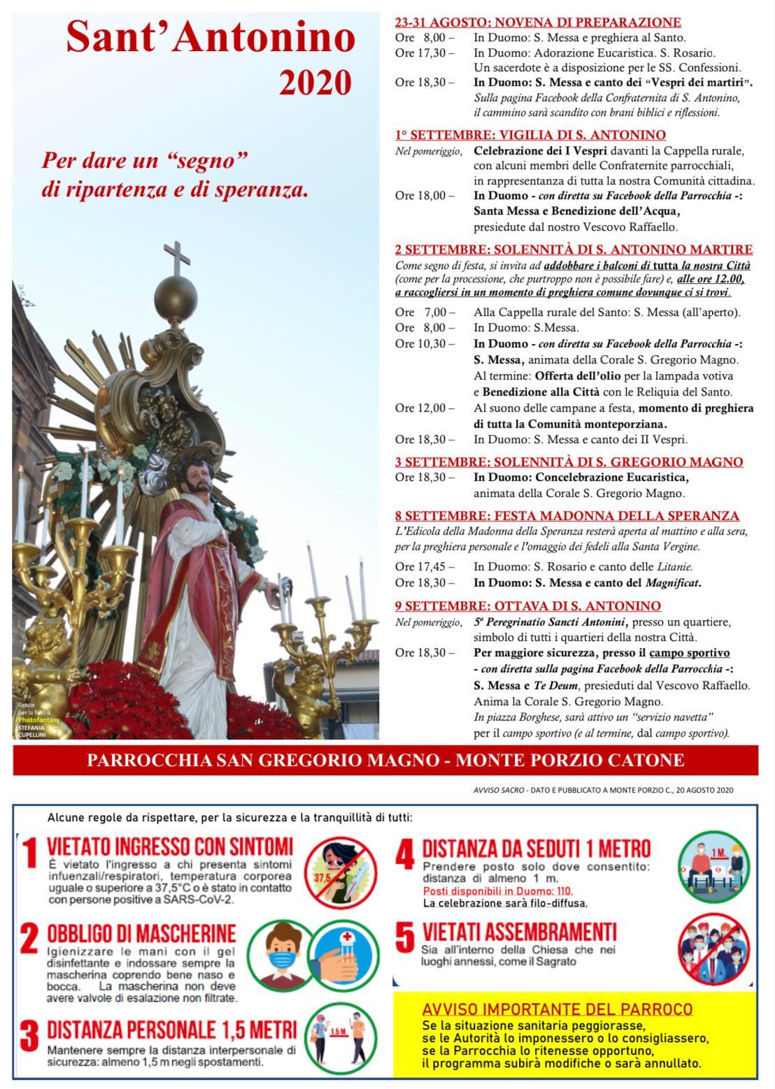 Sant'Antonino 2019