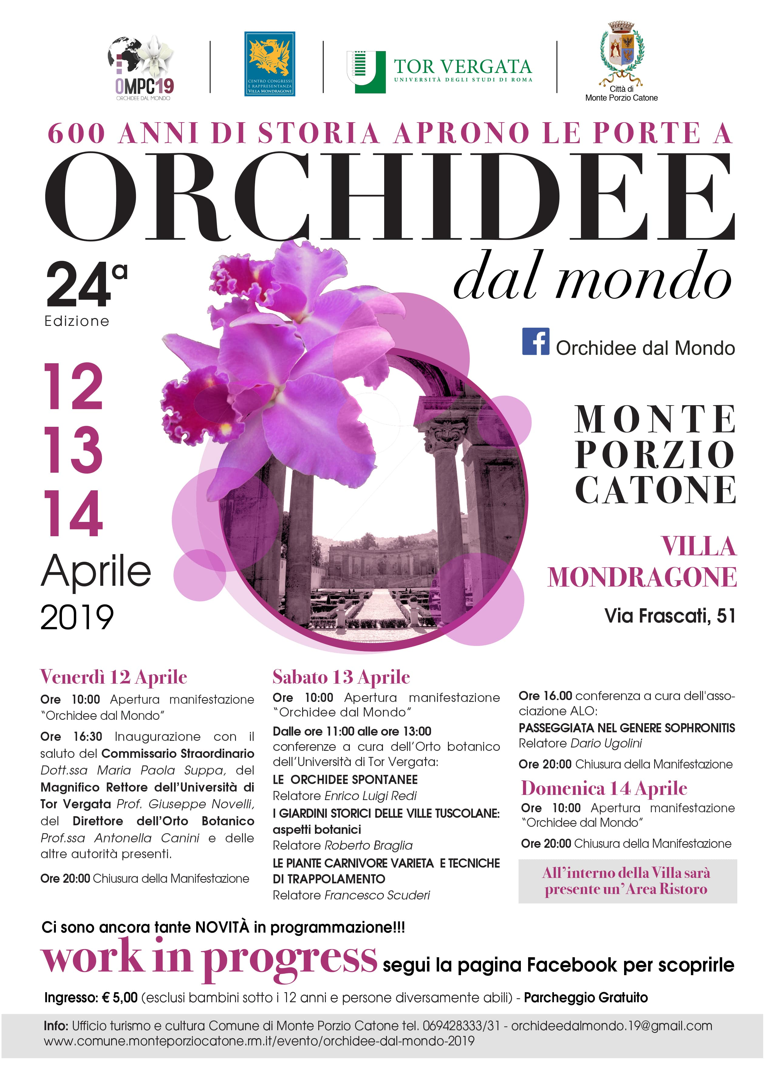 Mostra Orchidee 2019