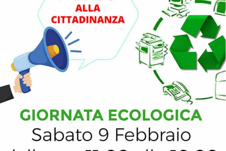 Giornata Ecologia Sabato 9 Febbraio 2019